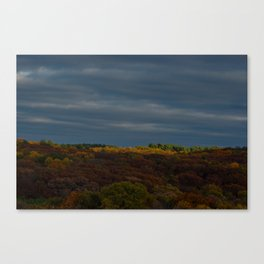 Blanketed Canvas Print