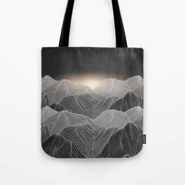 Lines in the mountains XIX Tote Bag