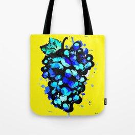 Colored Grape Tote Bag