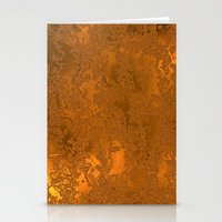 gold foil Stationery Cards featuring Gold Foil 10 by Robin Curtiss