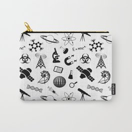 Science on White Carry-All Pouch