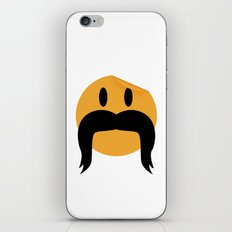 Moustache 05 iPhone & iPod Skin
