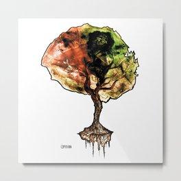 A Tree of Life Metal Print