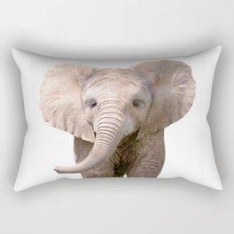 Cute Baby Elephant Rectangular Pillow