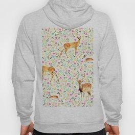 Deers #society6 #illustration #christmas Hoody