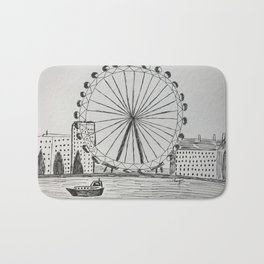 London Eye Bath Mat
