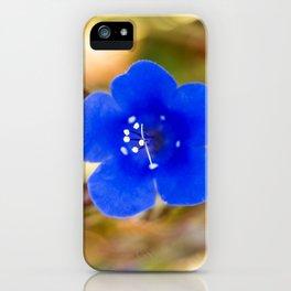 Desert Bluebell Alternate Perspective iPhone Case