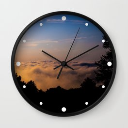 Forest on the Clouds Wall Clock