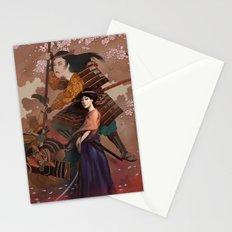 The Spirit of Tomoe Gozen Stationery Cards