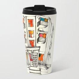 Japanese building Travel Mug