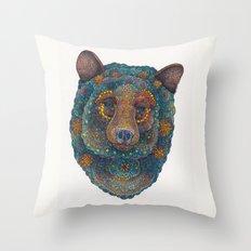 Constellation Bear Throw Pillow