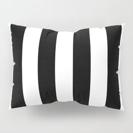 Black and White Stripes  Pillow Sham