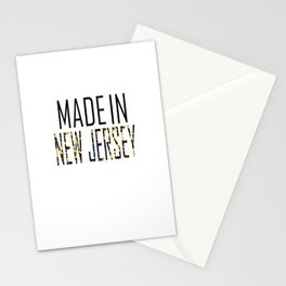 Made In New Jersey Stationery Cards