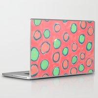polka dot Laptop & iPad Skins featuring polka dot by Jenni Freidman
