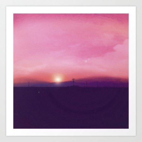 Sunsetter Art Print