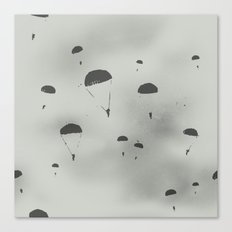 The Paratroopers Canvas Print