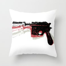 Blaster (Left) Throw Pillow