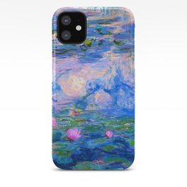 Water Lilies Claude Monet Restored iPhone Case