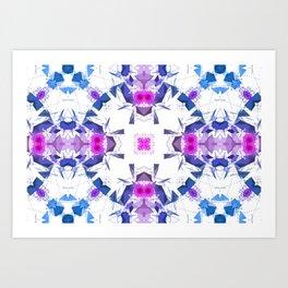 Geometric Alignment Art Print