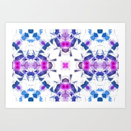 Geometric Alignment Art Print
