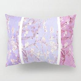 Vincent Van Gogh : Almond Blossoms Lavender Panel Art Pillow Sham