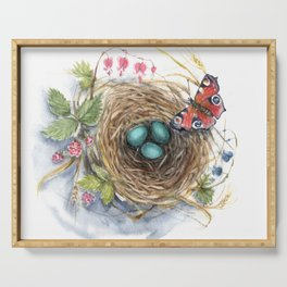 Robin's Nest Serving Tray