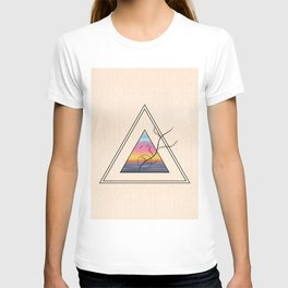 Triangle Sunset T-shirt