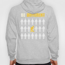 Bass Player Be Different Motivation Hoody
