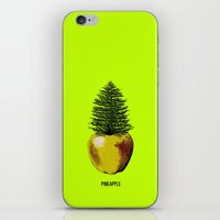 pinapple iPhone & iPod Skins featuring PinApple by Sberla