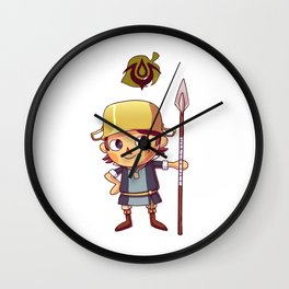 donny the villager Wall Clock