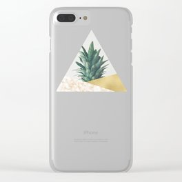 Pineapple Dip VII Clear iPhone Case