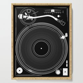 DJ TURNTABLE - Technics Serving Tray