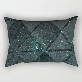 Spacial Geometrica #4 Rectangular Pillow