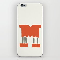 M Lettering iPhone & iPod Skin
