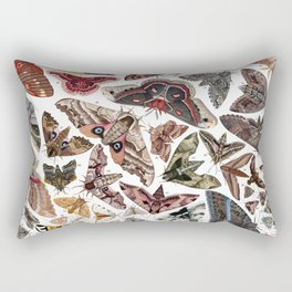 Moths of North America Rectangular Pillow