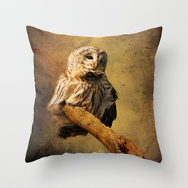 From above I see Throw Pillow