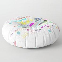 80's Floor Pillow