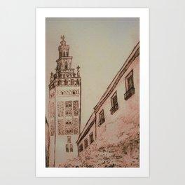 La Giralda Art Print