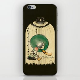 Chinese Idiom: Sitting Duck 插翅难飞 iPhone Skin