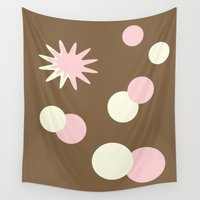 big bang Wall Tapestries featuring Neapolitan Big Bang by Donna M Condida