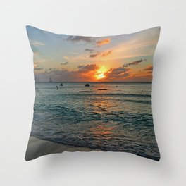 Even in Darkness Throw Pillow