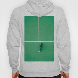 Tennis court green Hoody