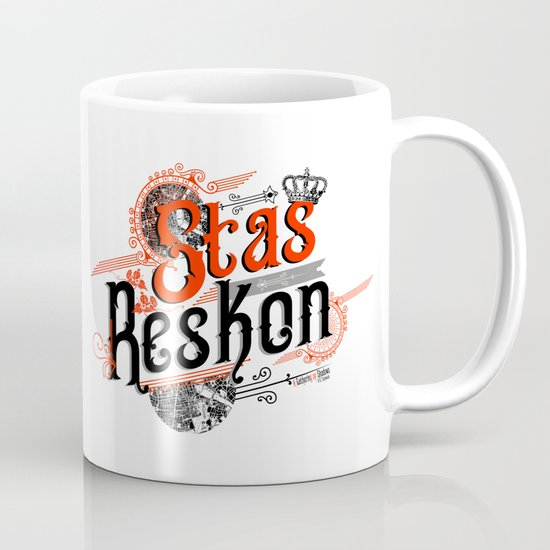 [Requested] Stas Reskon White BG Mug