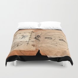 Unity Notebook.  Duvet Cover