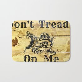Don't Tread On Me Bath Mat