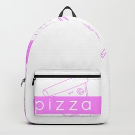 Pizza is love Backpack
