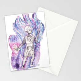 Do Time-Travellers Dream of Gravitational Waves? Stationery Cards