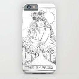 The Empress Tarot iPhone Case
