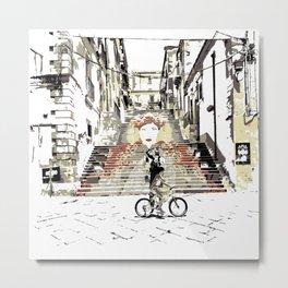 Art Stairs Metal Print