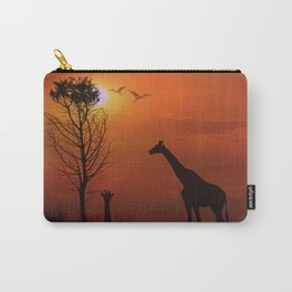 Sunset on the Plaines Carry-All Pouch